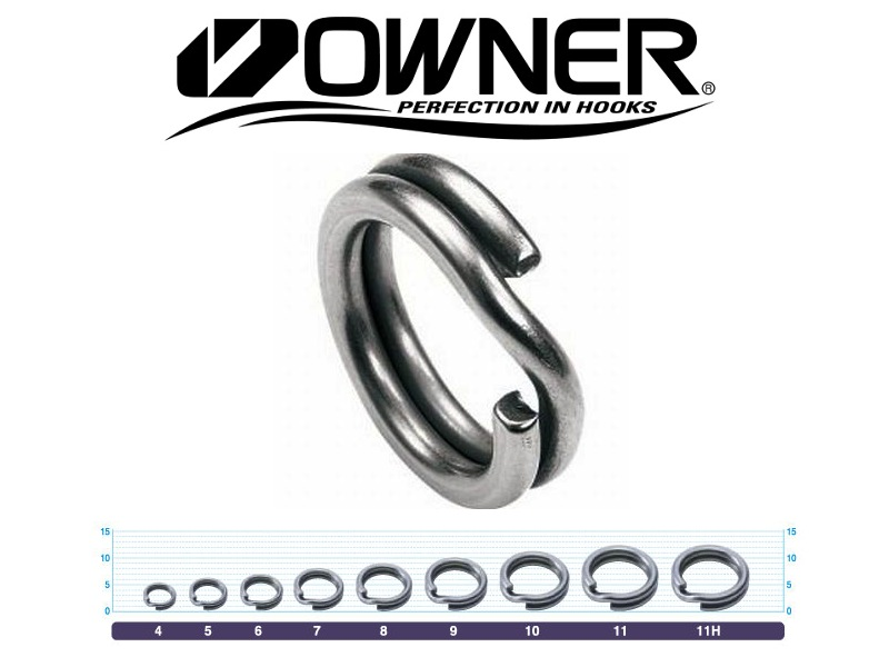 owner hyper wire split ring 5196