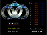 M&W Nylon Leader Line 100m